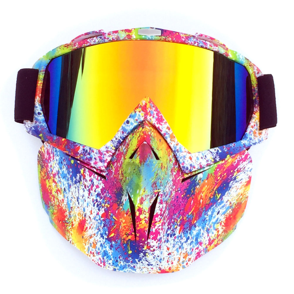 Face Mask Glasses Outdoor Sports