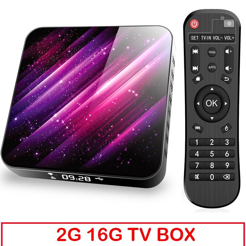 Tp03 Tv  Box H616 Android 10 4+32g D Video 2.4g 5ghz Wifi Bluetooth Smart Tv Box 2+16G_UK plug