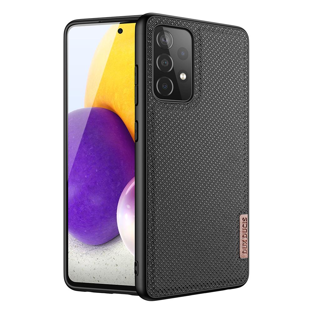 Protective Case For Samsung A72 5g/4g Nylon Fiber Protection Anti-drop Mobile Phone Case Satin black