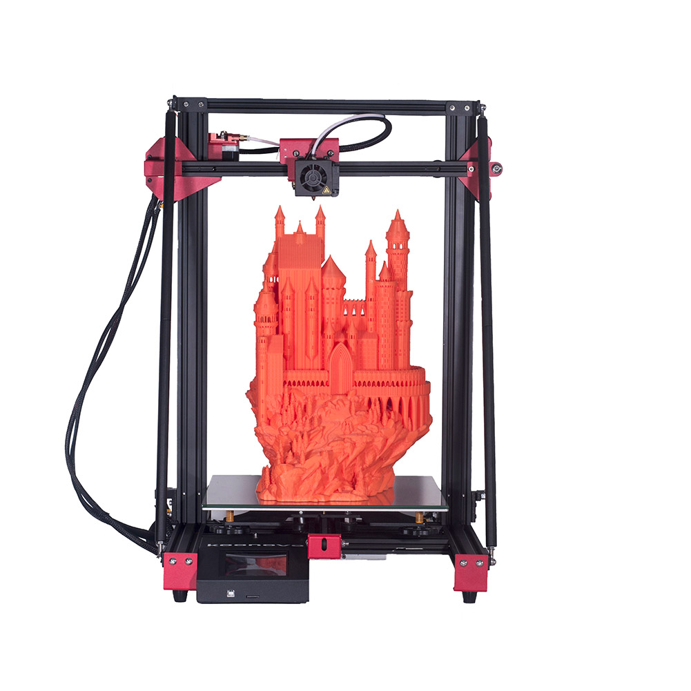 Fast Assembly Large-size 3D Printers High Accuracy Double Z Axis Automatic Frame Leveling
