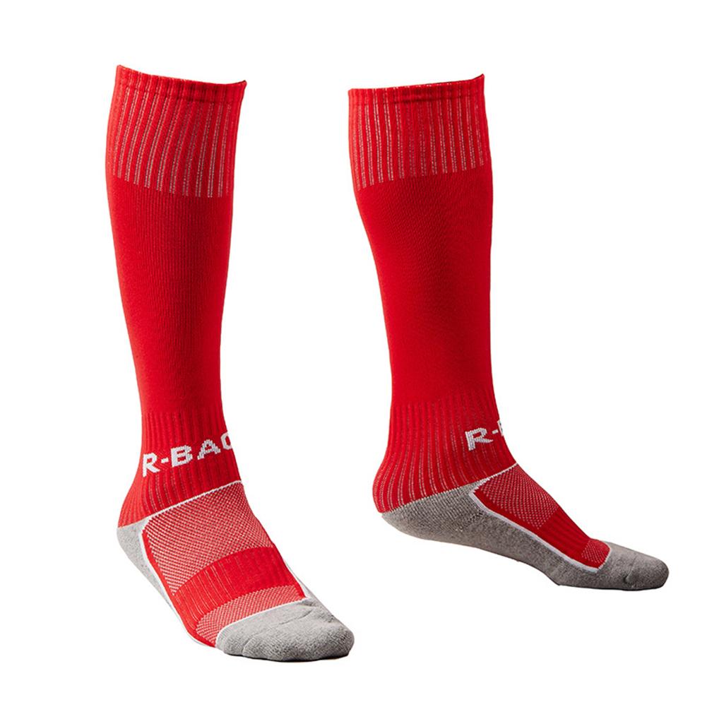 1 Pair Knee High Elastic Pressure Socks Breathable Sports Socks for Running Football Soccer