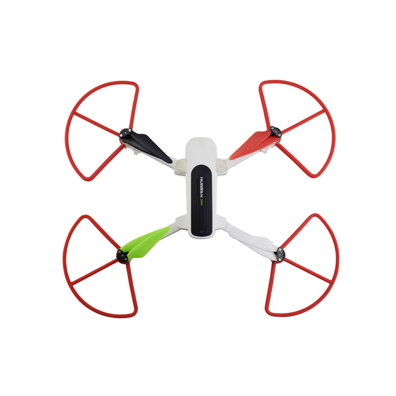 4PCS Quick Release Cover for Hubsan Zino H117S Quadcopter Accessory Remote Drone Protection Ring red