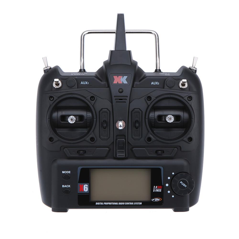 XK K100 K110 K120 K123 124 RC Helicopter Transmitter Remote Controller/ Flight Controller RC Transmitter Left hand throttle
