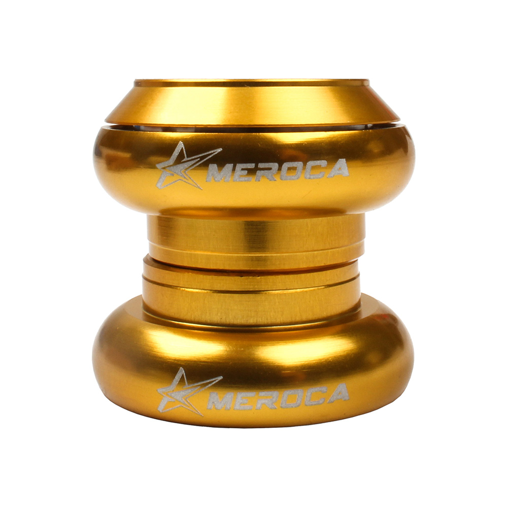 MEROCA Bicycle Headset 29.6mm Headset for Kid Balance Bike special for strider & kuka Children balance bicycle Gold
