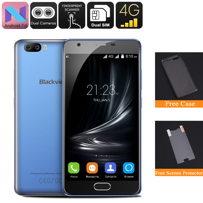 Blackview A9 Pro Android Phone (Blue)