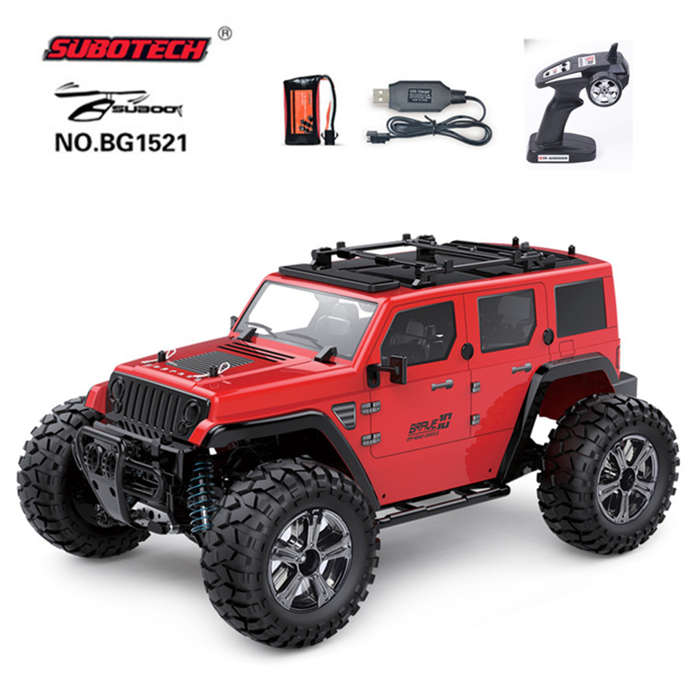 Subotech BG1521 Golory 1/14 2.4G 4WD 22km/h Proportional Control RC Car Buggy red