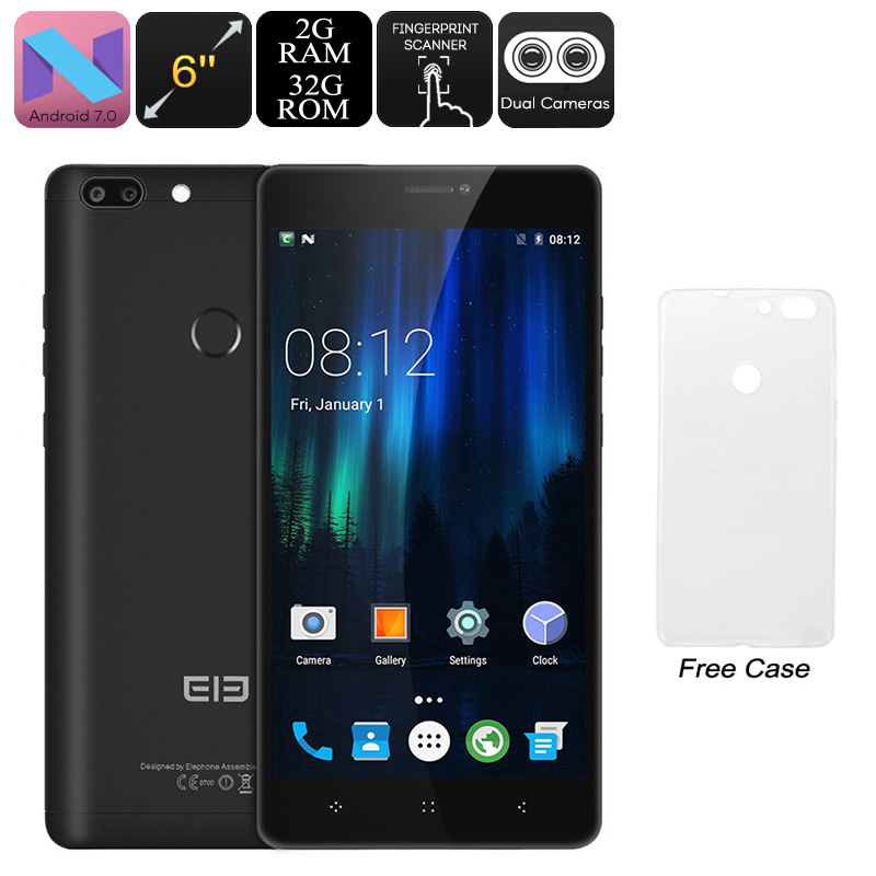 Elephone C1 Max Android Phone (Black)