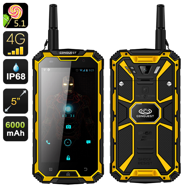 CONQUEST RUGGED PHONE