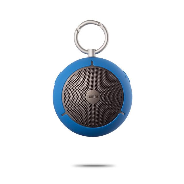 EDIFIER M100 Outdoor Mini Speaker Keychain Type Wireless Bluetooth Loudspeaker Portable Waterproof Music Player Support TF Memory Card blue