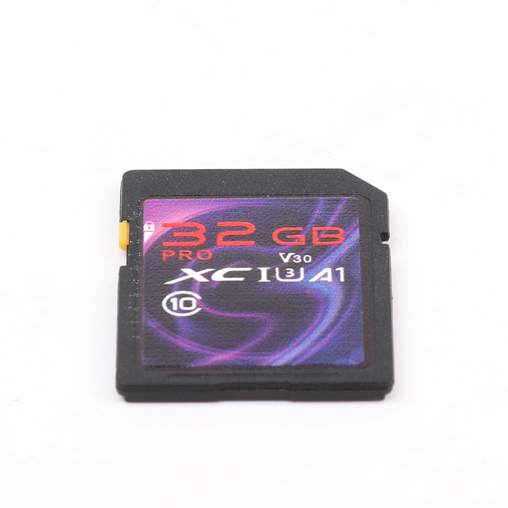 High-speed Purple SD Card 3.0 Interface Universal Multifunctional SD Card 32GB