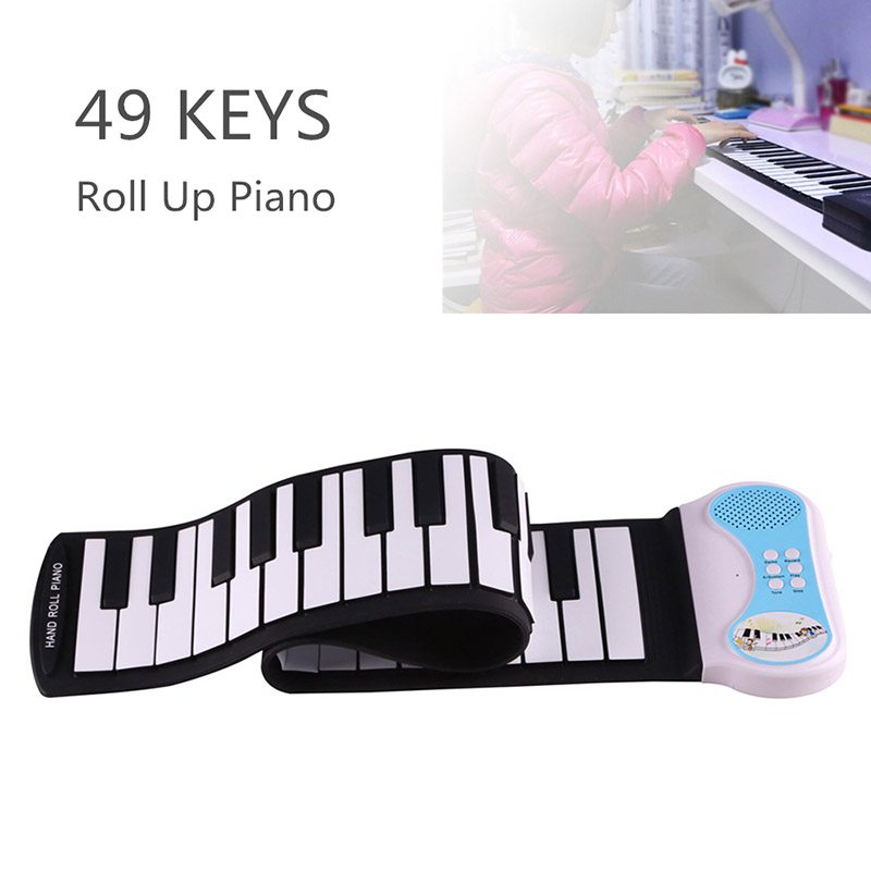 Foldable Silicone Piano