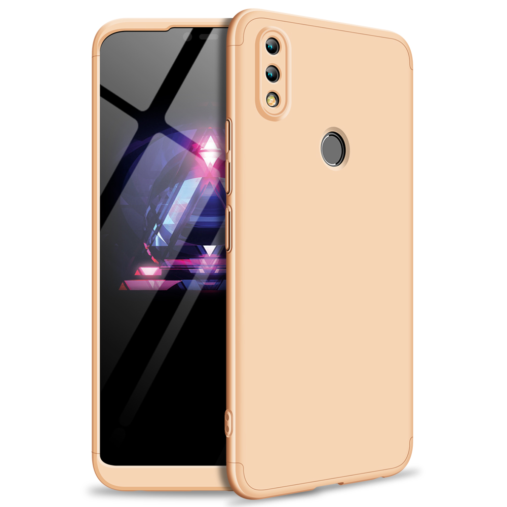 For HUAWEI Honor 8X Ultra Slim PC Back Cover Non-slip Shockproof 360 Degree Full Protective Case Gold_HUAWEI Honor 8X