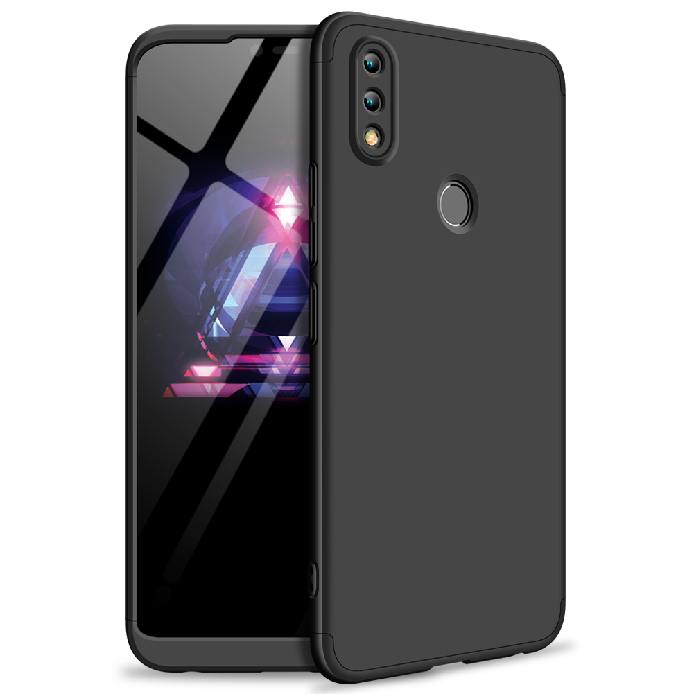 For HUAWEI Honor 8X Ultra Slim PC Back Cover Non-slip Shockproof 360 Degree Full Protective Case black_HUAWEI Honor 8X