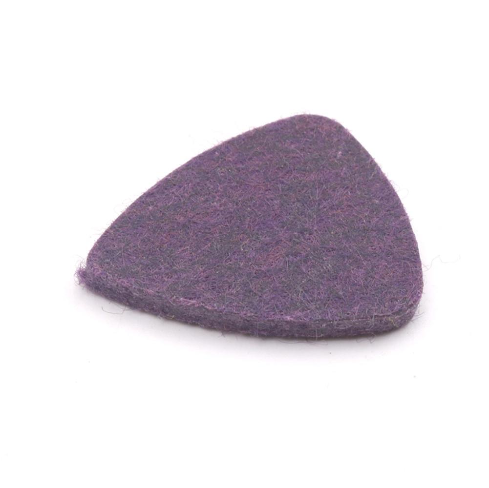 Colorful Ukulele Wool Picks Wool Felt Picks for Ukulele purple
