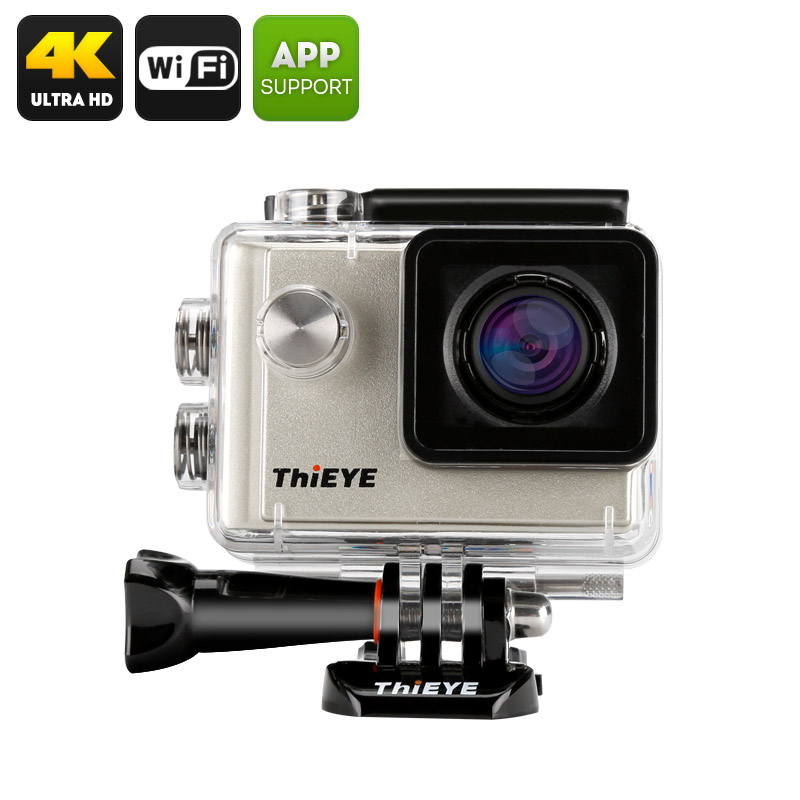 ThiEYE i60 4K Action Camera (Silver)