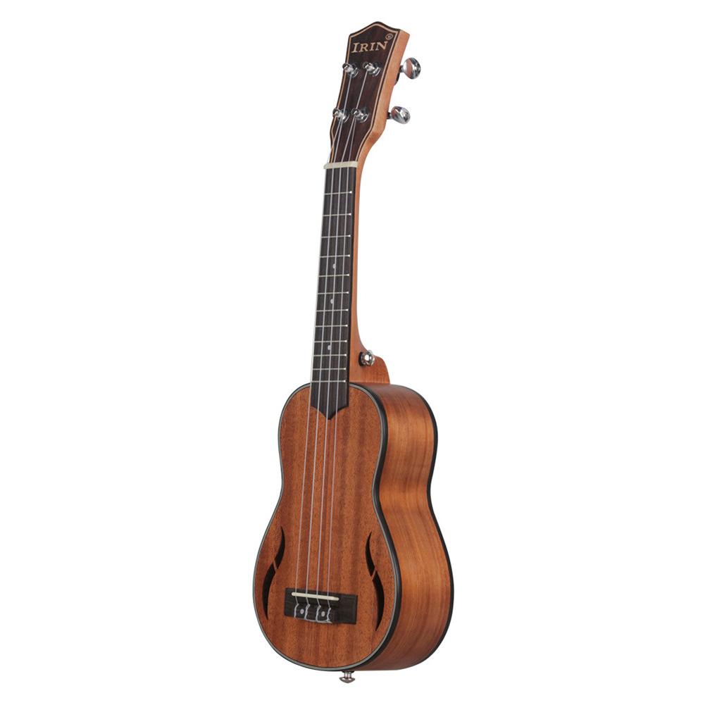 21 inches UK2160 Ukulele Mahogany Wood Acoustic Guitar Ukelele Mahogany Fingerboard Neck Hawaii 4 String Guitar 21 inches
