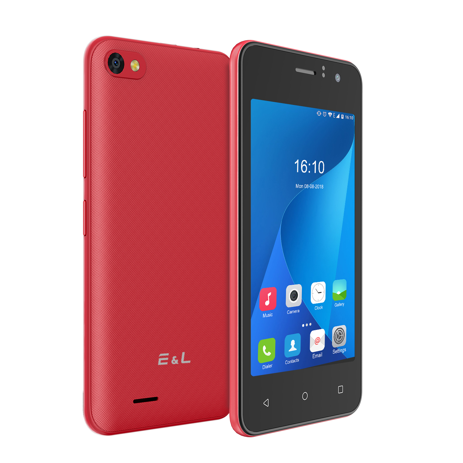 EL W40 3G Android 4.0 inch Smartphone Red