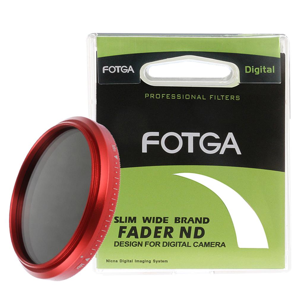 Slim Fader Variable ND Filter Adjustable Neutral Density ND2 to ND400 67mm