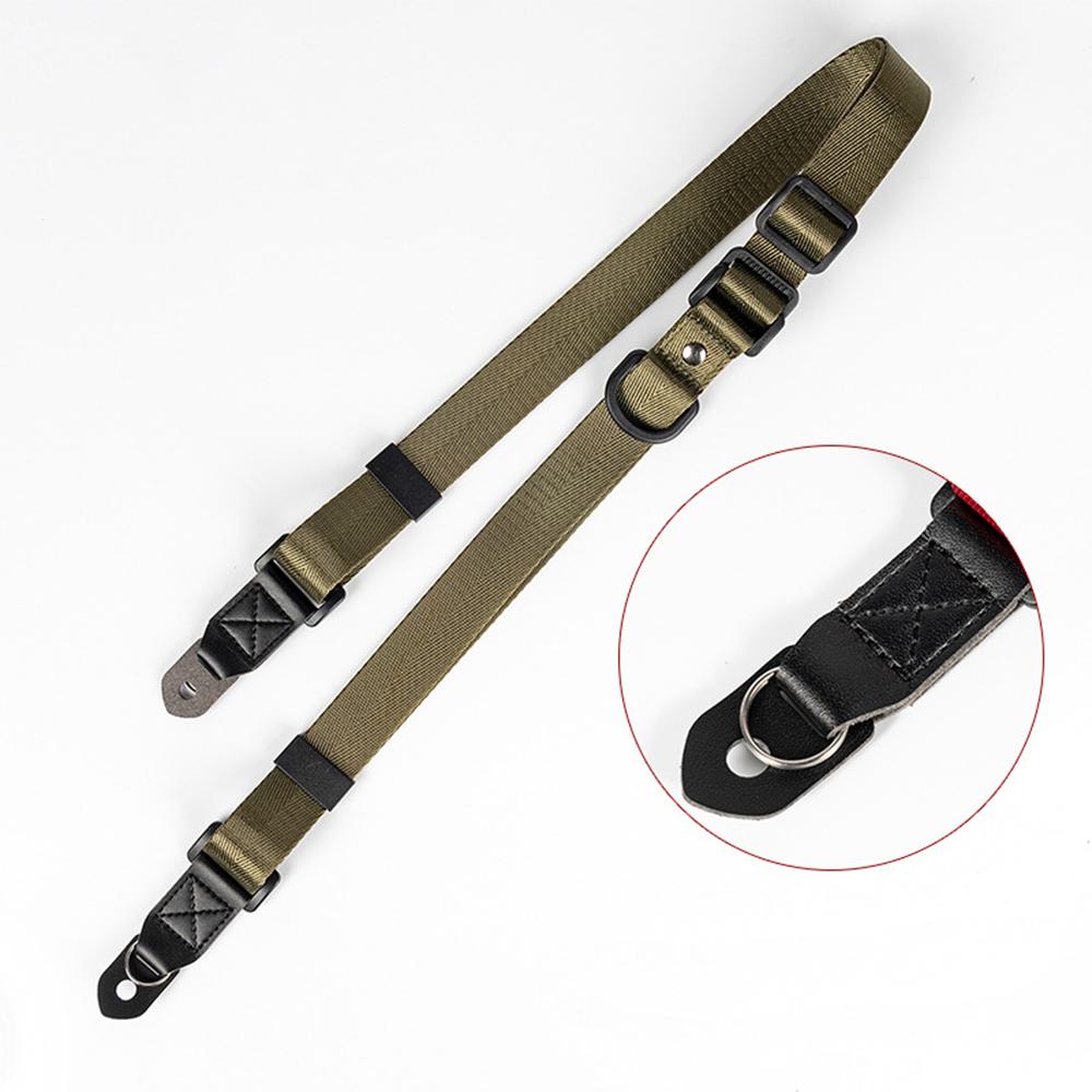 Adjustable Shoulder Neck Camera Strap for SLR Camera, Micro SLR Camerae Card Machine ArmyGreen