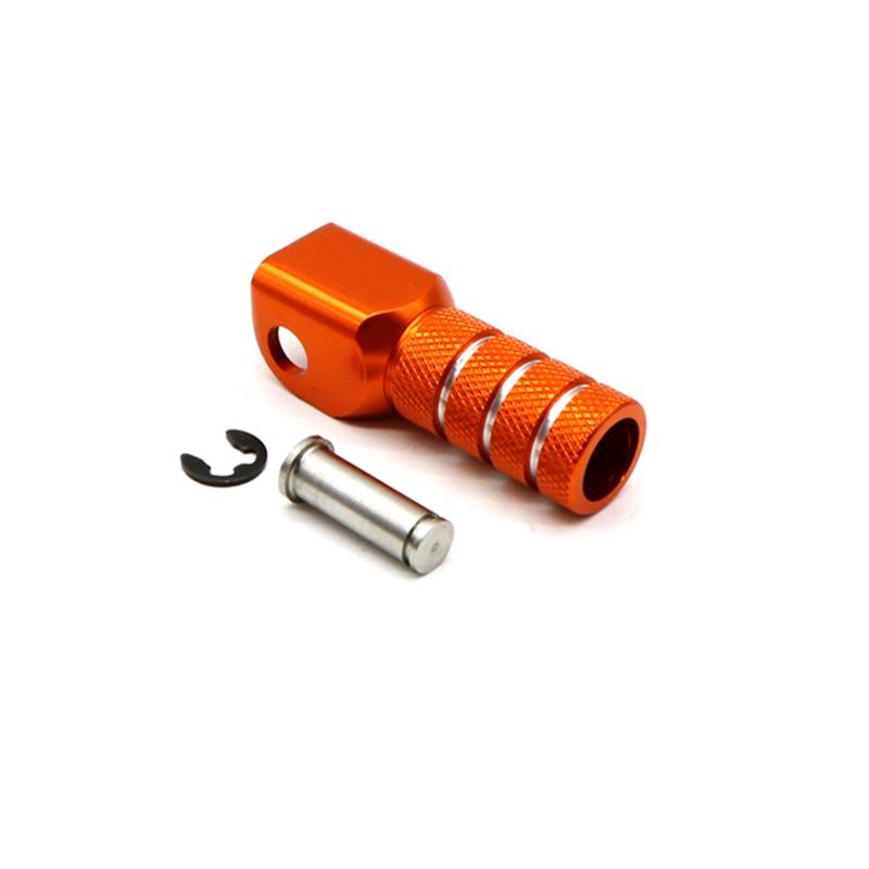 Rear Brake Pedal Step Gear Shift Lever Top For KTM 125 530 duke 690 990 Orange (Shift Lever Top)