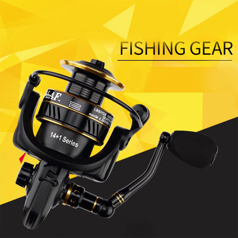 Fishing Reel Lure Spinning Fishing Reel Metal Fishing Rod Reel BS4000