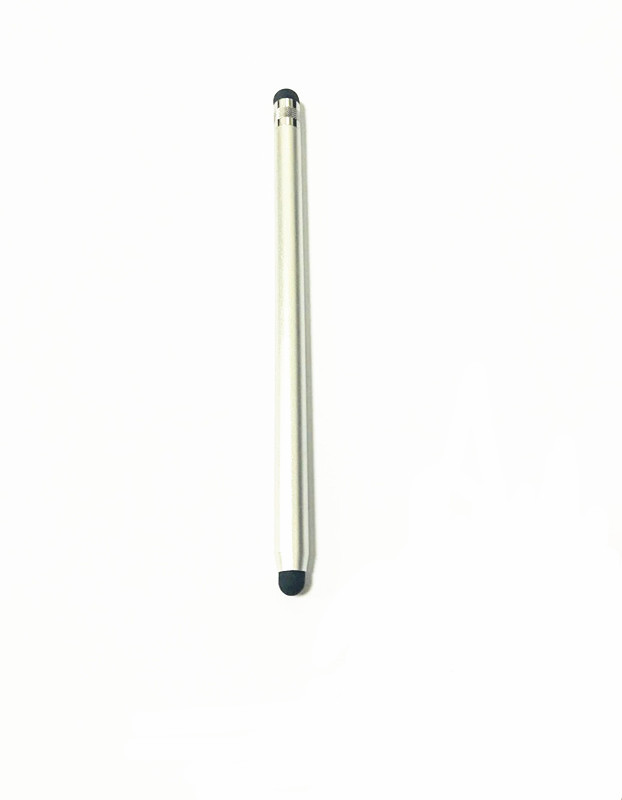 Stylus Pen Painting 2 In 1 Anti-scratch Stylus Touch Screen Pen For Ipad Tablet Silver