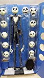 [EU Direct] The Nightmare Before Christmas Jack Skellington 15″ Figure 12 Skull Heads Doll
