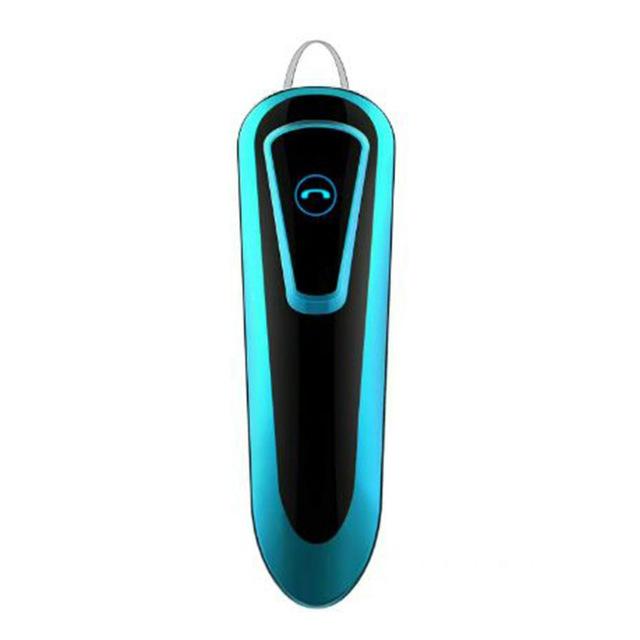 M20 Bluetooth Earpiece Noise Cancelling Driving Trucker Bluetooth 5.0 Wireless Headset Earbuds blue
