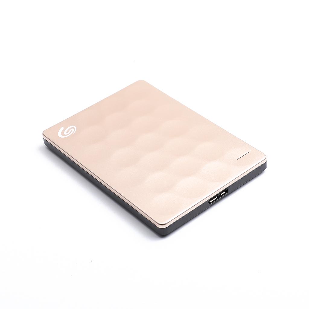 External Hard Drive 2.5 Portable Hard Drive 2TB  Golden