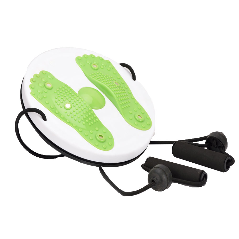 Magnet Balance Rotating Fitness Core Waist Twisting Disc Weight Loss Fitness Equipments Twister Plate green