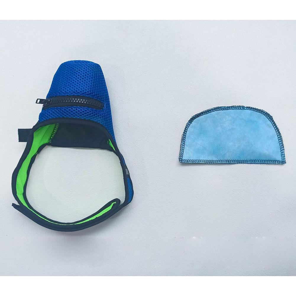 N95 Mask Anti-haze with Breathing Valve Dog Anti Virus Masks for Small Medium Large Pet 1 mask + 1 mask pad_M