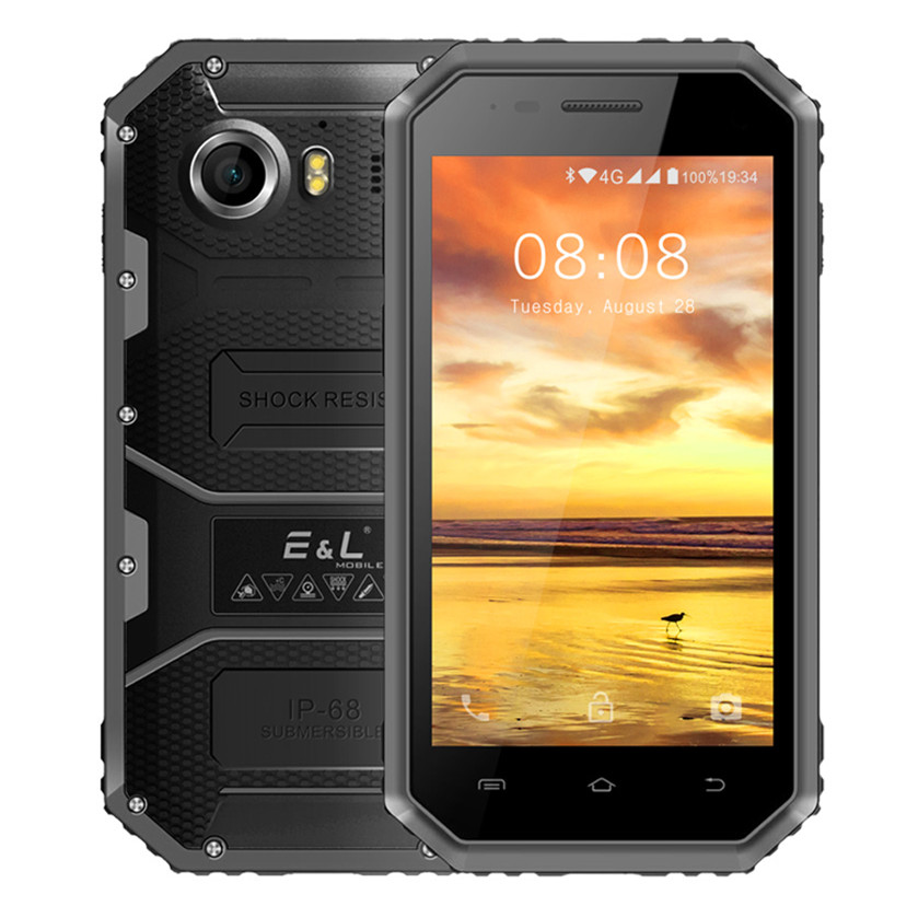 EL W6 4.5 Inches Small Screen sonim - Black