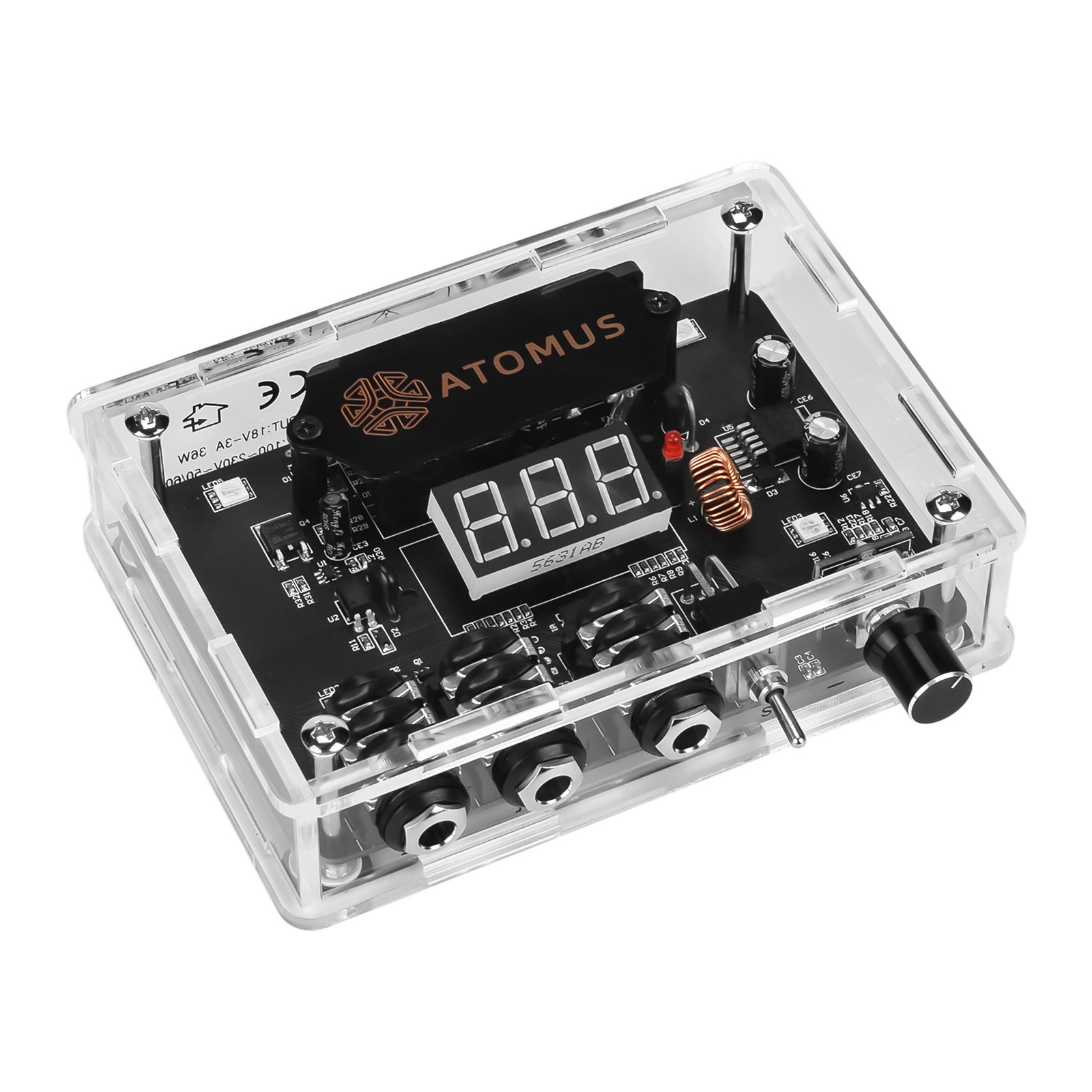 Tattoo Machine Accessory Power Supply Voltage Regulator Lcd Power Supply Mini Power Supply Antiskip Base U.S. plug