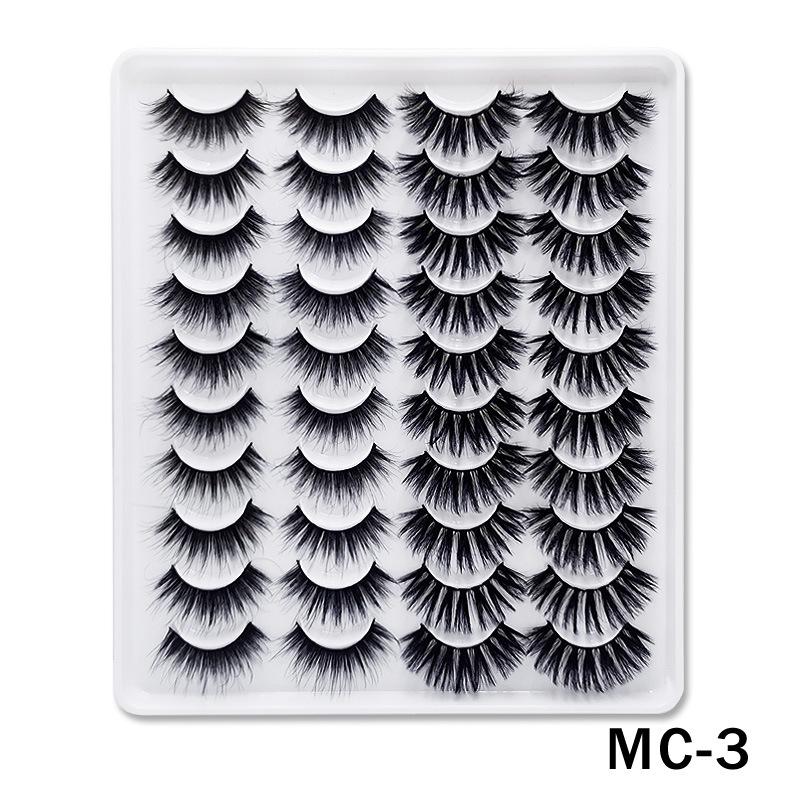6D Mink False Eyelashes Handmade Extension Beauty Makeup False Eyelashes MC-3