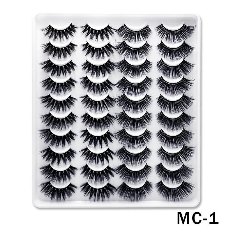 6D Mink False Eyelashes Handmade Extension Beauty Makeup False Eyelashes MC-1