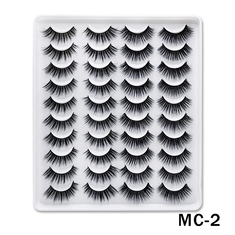 6D Mink False Eyelashes Handmade Extension Beauty Makeup False Eyelashes MC-2