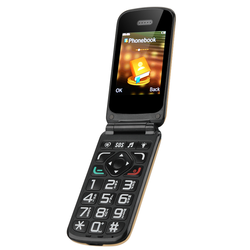 VKWorld Z2 Seniors Cell Phone (Gold)