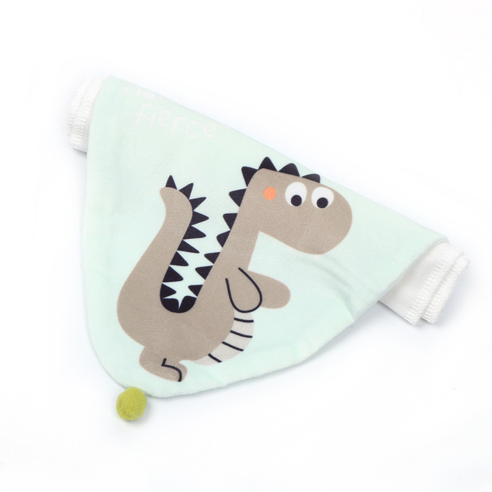 Cartoon Animal Baby Sweat Suction Towel Large Size Children Cotton Gauze Pad Sling Dinosaur 1