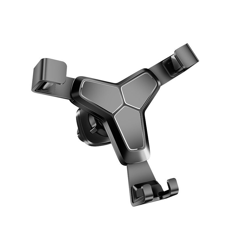 Universal Gravity Air Vent Phone Car Mount Holder Free Angle Rotation for Mobile Phone,iPhone Xs/X/8/7/6s/Plus/5S/4S, Samsung S8/S7/S6/Note 8  Y2 bracket black