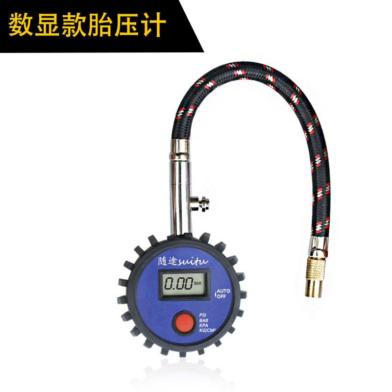 Car Tire Air Pressure Gauge High Precision Digital Display Electronic/pointer Tire Pressure Gauge Digital display
