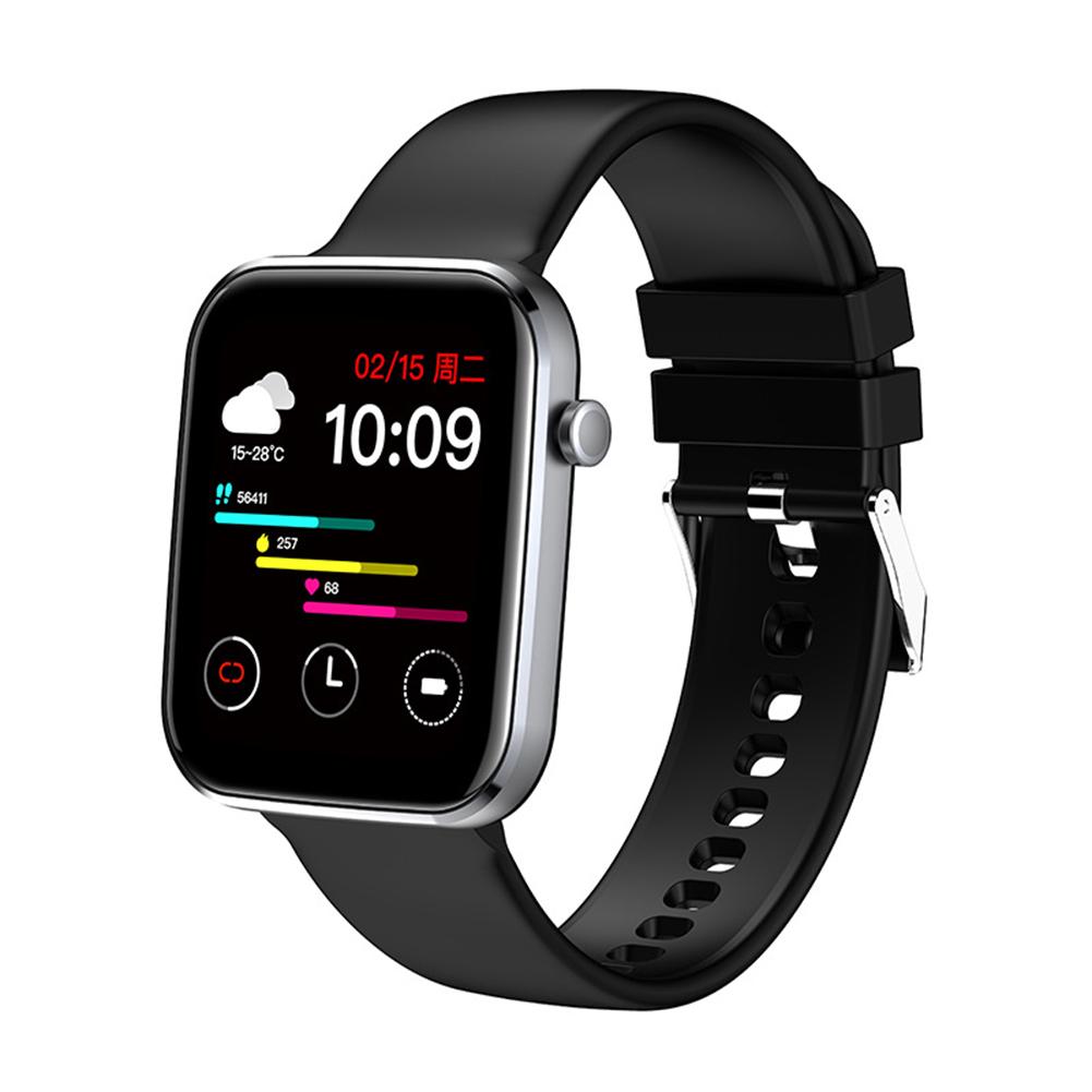 Z15 Smart Watch Bluetooth Call Smart Watch Men Women Ecg Heart Rate Monitor Sport Activity Tracker Black