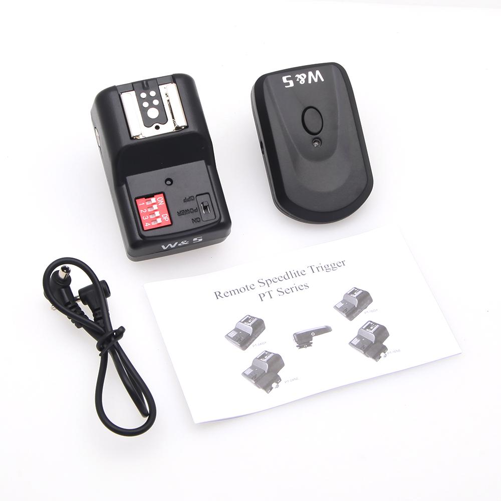 Universal 16 Channels Radio Wireless Remote Speedlite Flash Trigger for Flashe Speedlite 1 to 1