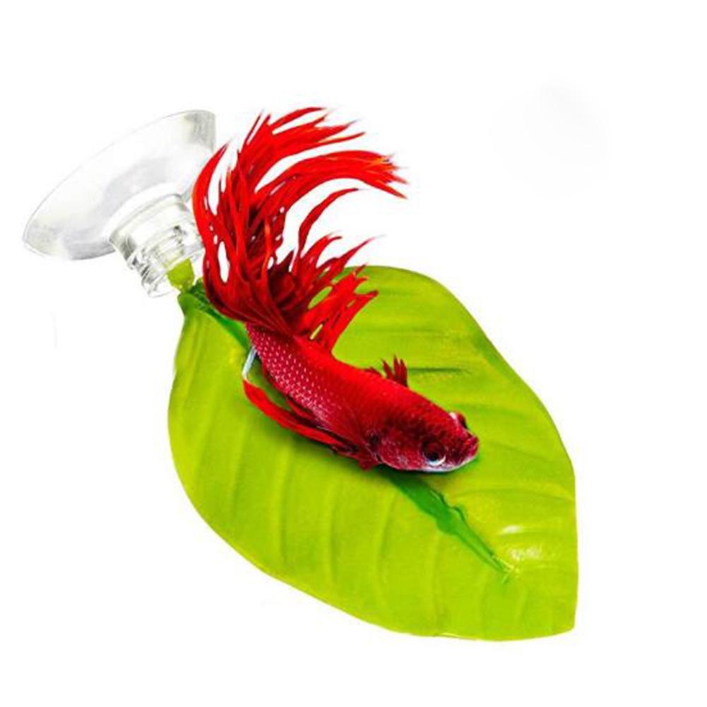 Aquarium Supplies Fish Box Decoration Landscaping Simulation Leaves Rest Leaves single package