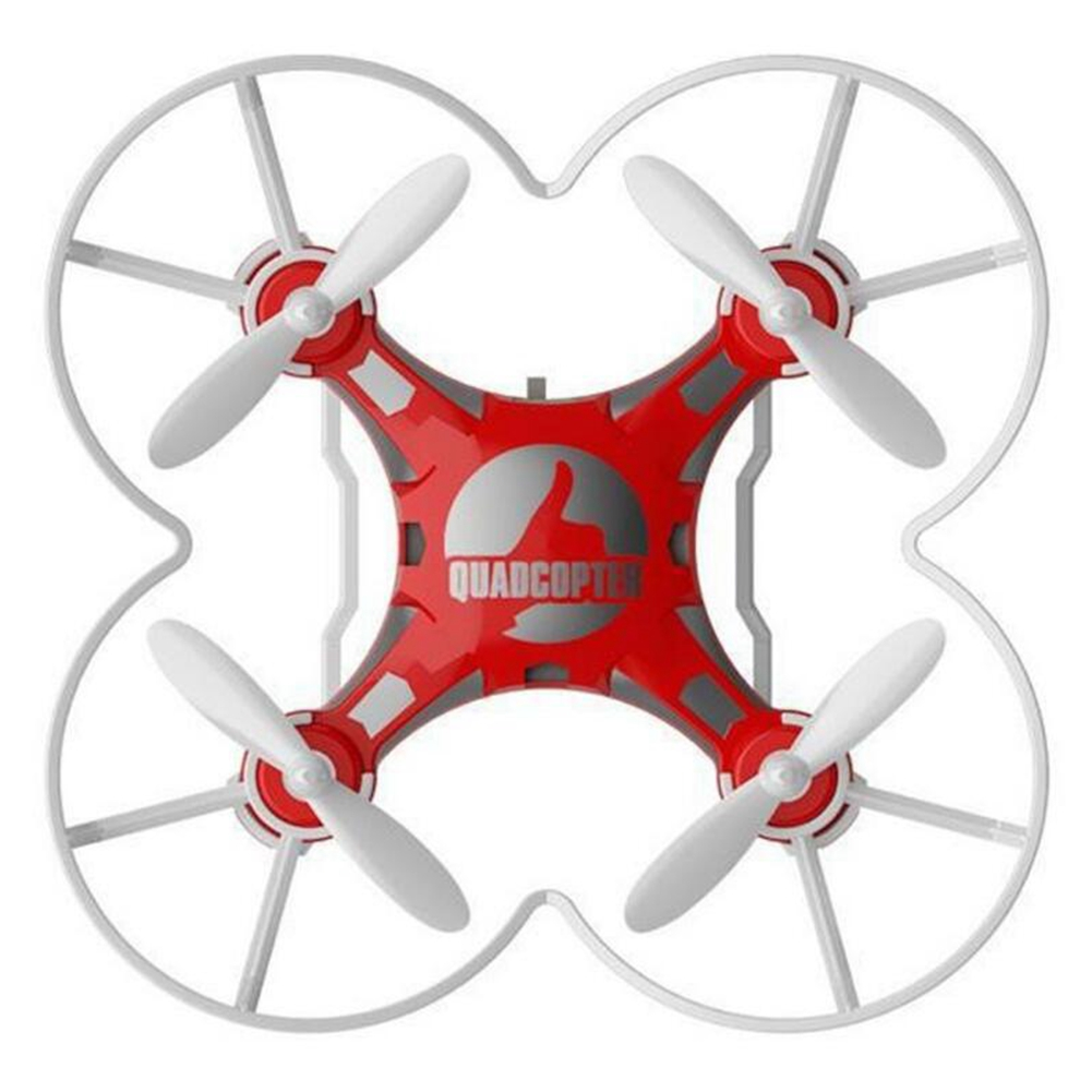 Children's Toy Pocket Drone with Remote Control Transmitter Mini Quadcopter RC helicopter Red