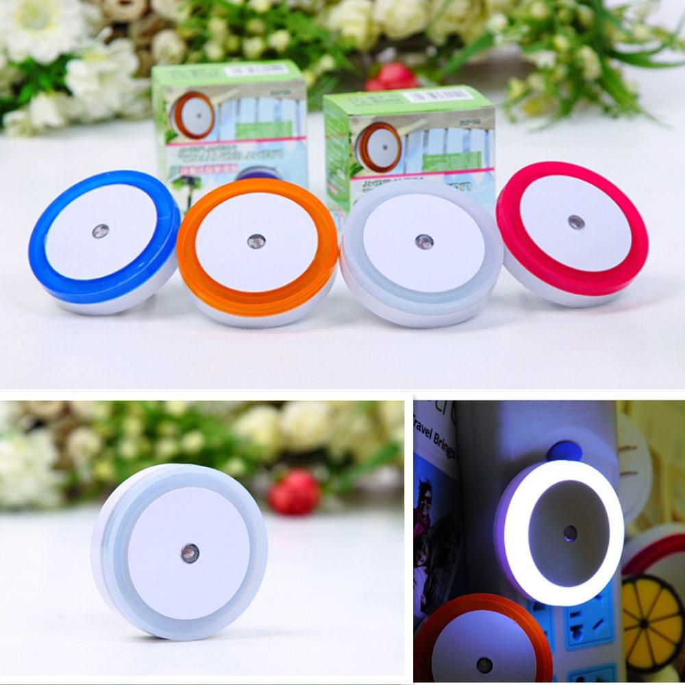 Smart Light-control Sensor LED Night Light for Kids Baby Room, Bedside,White