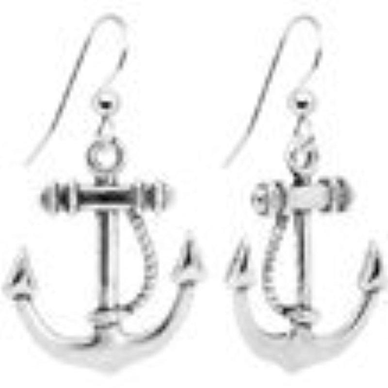 [EU Direct] XY Fancy Nautical Anchor Dangle Earrings