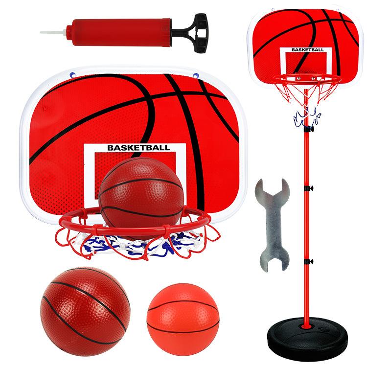 Basketball Stands Height Adjustable Kids Basketball Goal Hoop Set As shown
