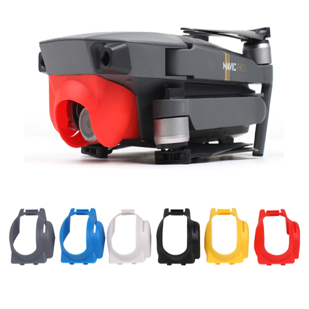 [EU Direct] 1 Pcs Mavic PRO Drone Camera Lens Protector Sun Hood Sunshade Anti-Glare Camera Gimbal Black