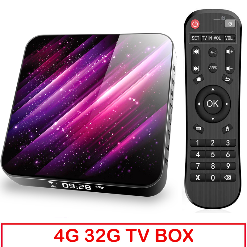 Tp03 Tv  Box H616 Android 10 4+32g D Video 2.4g 5ghz Wifi Bluetooth Smart Tv Box 4+32G_Eu plug