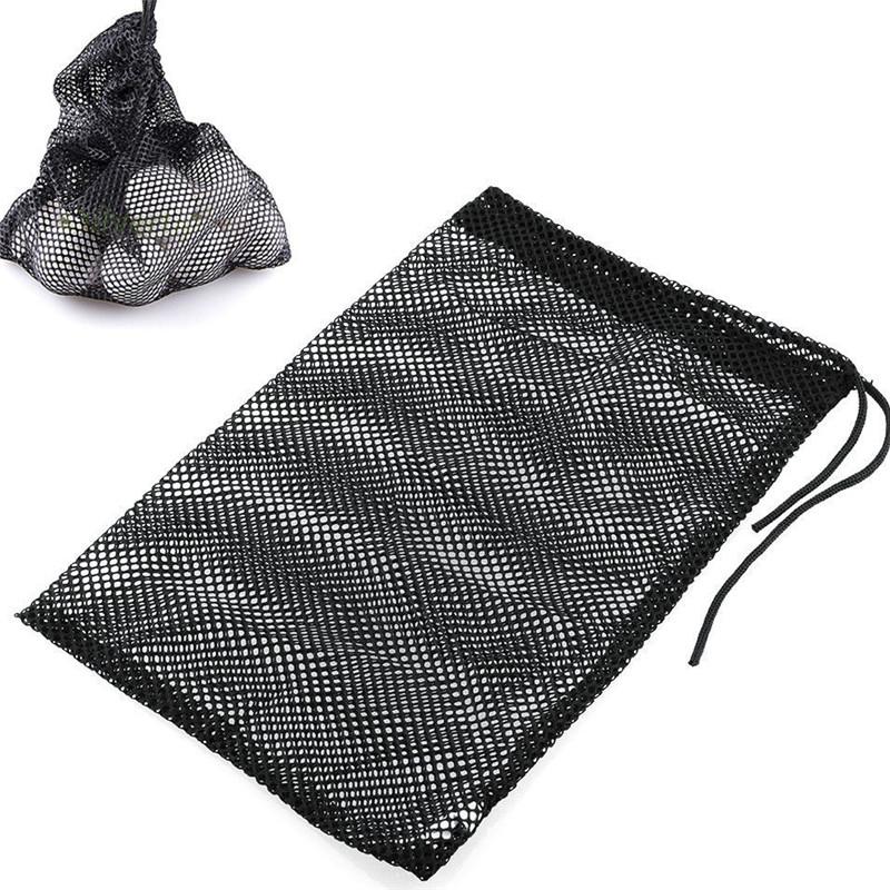 Golf Ball Mesh Bag Ball Collection Storage Bag 10-50 Balls Accessories Bag small